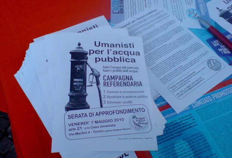 """La Corte costituzionale dice """"no"""" alla privatizzazione dell'acqua: vale il referendum"""