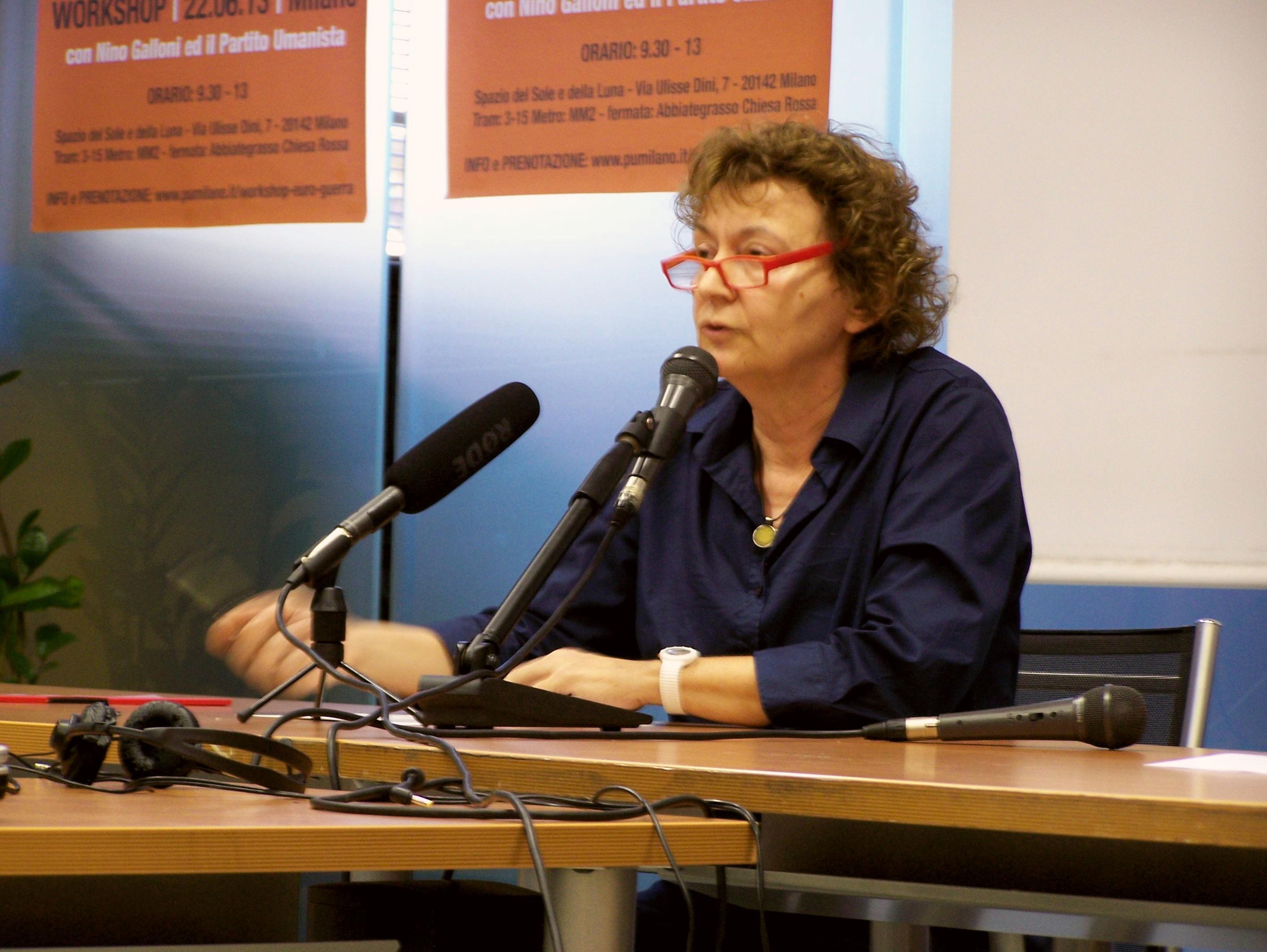 Giovanna Uldadeschi - intervento sul Fallimento dell'economicismo, la democrazia formale e la violenza