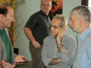 Nando Ioppolo con Nino Galloni al Workshop la Guerra dell'Euro