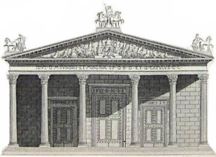 Tempio degli Dei Romani (copyright by sangiorgiodipiano.net)