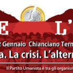 """Appuntamento con la Storia: """"Oltre l'euro. La sinistra, la crisi, l'alternativa"""""""