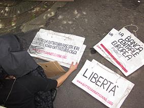 Alcuni dei cartelli utlizzato