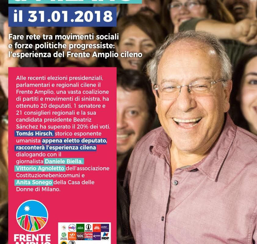 31 Gennaio Milano Tomas Hirsch
