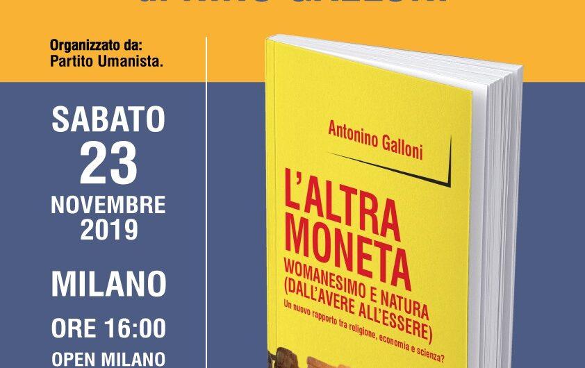 Presentazione del Libro L'Altra Moneta di Nino Galloni – con l'autore